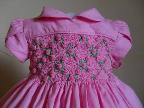 Hand Embroidery Stitch Baby Girl Frock Design Embroidery Designs