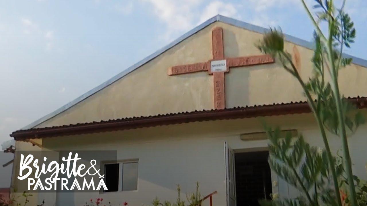 Familia Pastramă și credința! Brigitte și Florin merg des la biserică și se roagă înainte de masă
