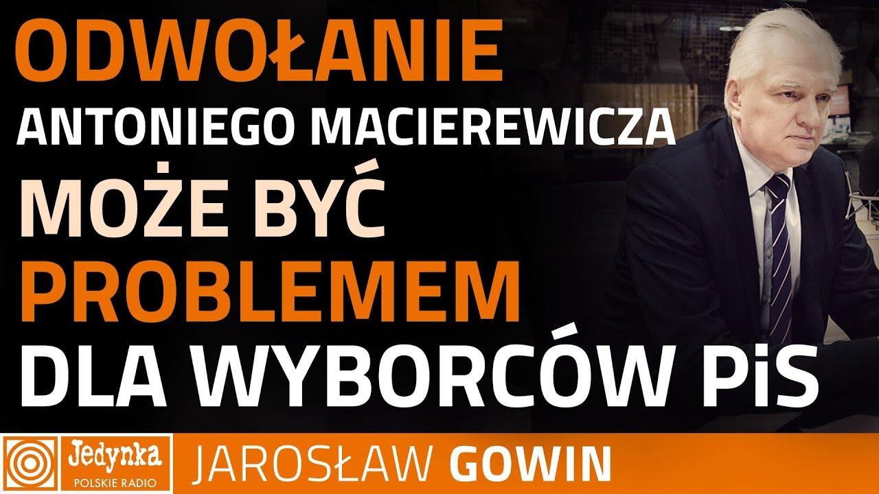 Gowin: wyborcy ufają Antoniemu Macierewiczowi