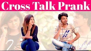 Cross Talk Prank | VJ Roshni | Ka Ka Ka Po