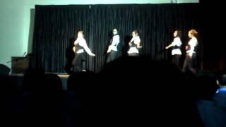 Freashman girls dancing@HCPA Talent Show [100128]
