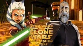 Clone Wars Lightsaber Duels Ahsoka Tano vs Count Dooku