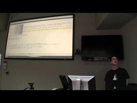 Sam Flint - Perl/Tk - ODLUG