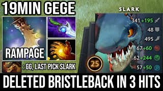 How to Counter Tanky Enemy with Max Agi Slark 19Min GG + Rampage 3Hits Deleted BB | DotA 2 Guide