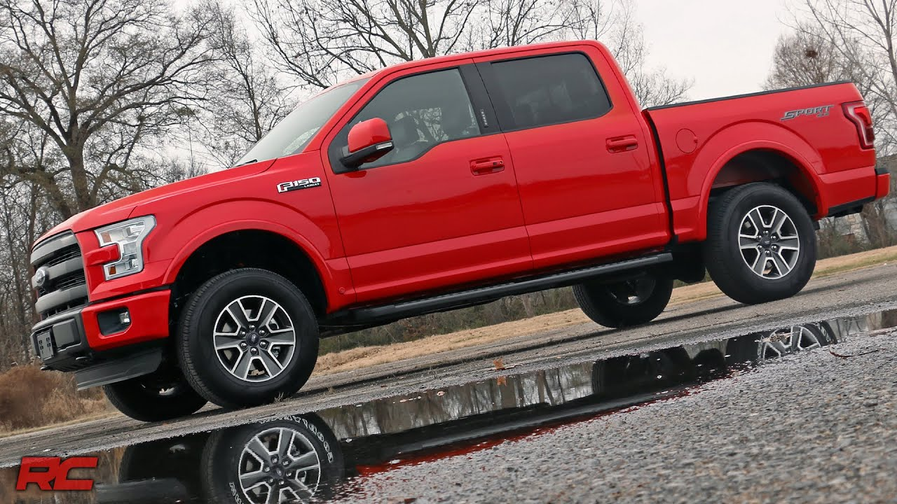 Ford F   Inch Leveling Kit By Rough Country