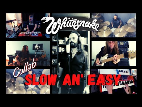 COLLAB - WHITESNAKE - SLOW AN' EASY | METAL VRAU