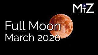 Gambar cover Full Moon & Mercury Direct | March 9th 2020 | True Sidereal Astrology