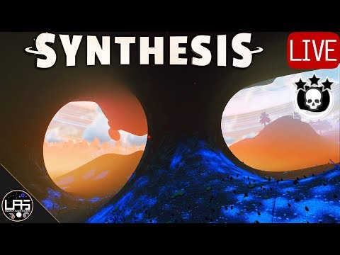 No Man's Sky Survival #69   Brrrrr! & 6 Biome Farm Building   Xaine's World Synthesis