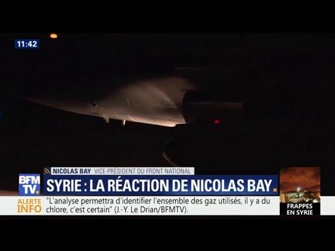 """Nicolas Bay: """"On n'a aucune preuve précise d'une attaque chimique par le régime de Bachar al-Assad"""""""