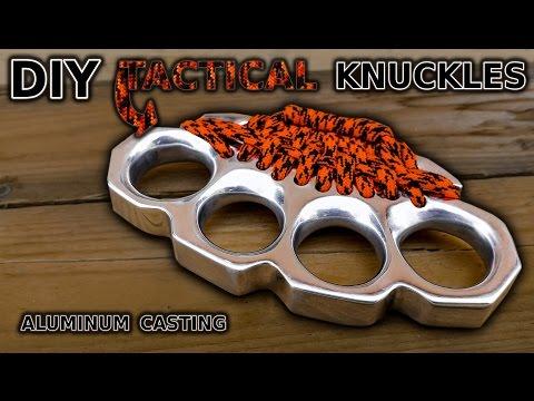 DIY Knuckles! Aluminum Casting