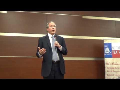 Attorney General Ken Paxton presentation.