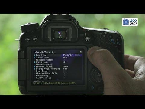 RAW Vídeo na Canon 70D com Magic Lantern