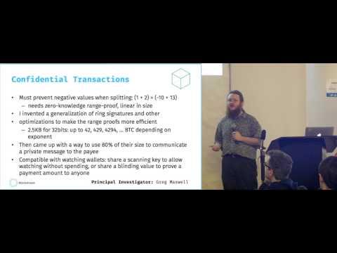 SF Bitcoin Devs Seminar: Sidechains: Bringing New Elements to Bitcoin