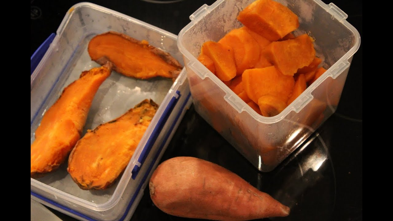 Bodybuilding cooking sweet potatoes youtube ccuart Gallery