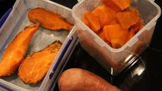 Bodybuilding Cooking:  Sweet Potatoes