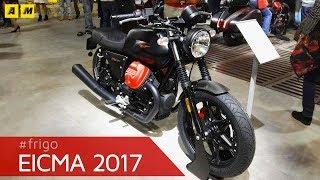 Eicma 2017 - Moto Guzzi V7 III e V9 2018