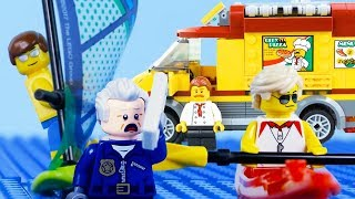 LEGO City Fail COMPILATION LEGO Beach, Robbery, Monster Truck & More | LEGO City | By Billy Bricks