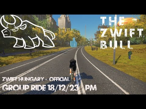 Zwift Hungary group ride PM 2018/12/23