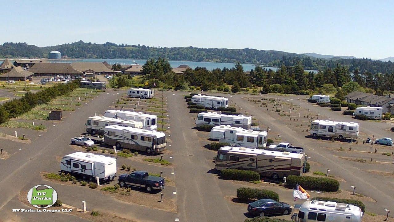 Newport Dunes Rv Park >> Port of Newport RV Park & Marina - YouTube