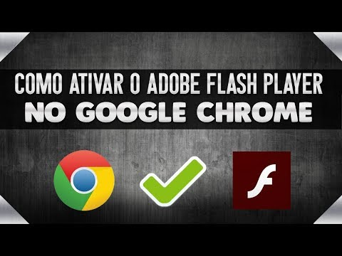 COMO ATIVAR o ADOBE FLASH PLAYER no navegador GOOGLE CHROME
