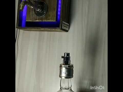 Wall liquor dispenser,  whiskey dispenser,  alcohol dispenser,  gift