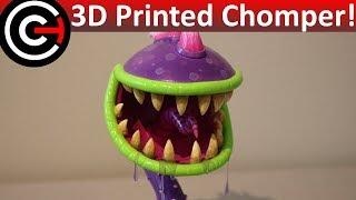 3D Printed Chomper! - Plants Vs Zombies Garden Warfare