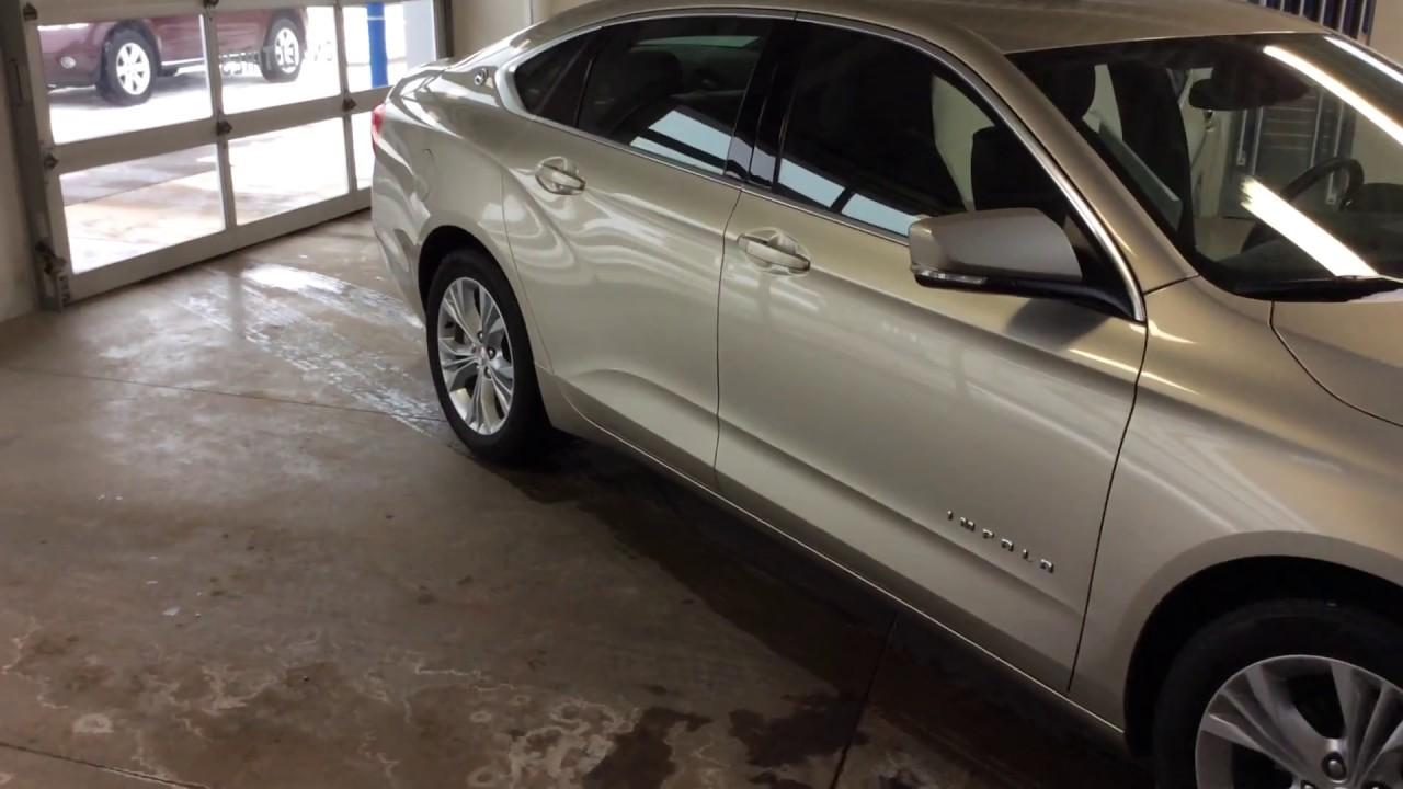 2015 Chevrolet Impala Lt W 2lt Champagne Youtube