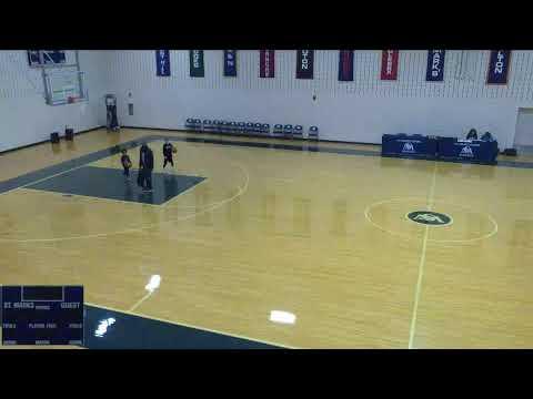 St. Mark's vs. Brooks High School Varsity Mens' Basketball
