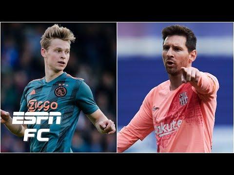How Frenkie de Jong will mesh with Lionel Messi & Luis Suarez at Barcelona | La Liga