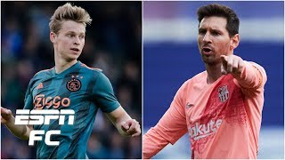 How Frenkie de Jong will mesh with Lionel Messi & Luis Suarez at Barcelona | La Liga