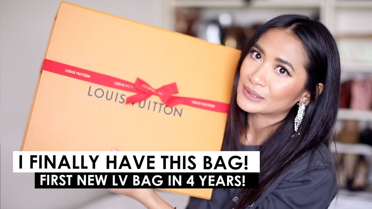 a65d127c UNBOXING | FIRST BRAND NEW LOUIS VUITTON BAG IN 4 YRS! - YouTube