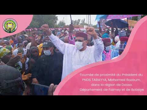 Download Tournée de proximité du Président du PNDS TARAYYA, Mohamed Bazoum, dans la région de Dosso. Départem
