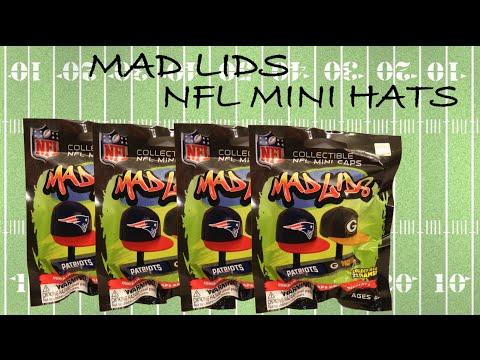 Mad Lids National Football League (NFL)  mini hat Blind Bags