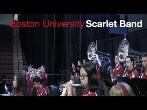 Skrillex - Scary Monsters and Nice Sprites: Boston University Scarlet Band Cover (w/ tuba drop!)