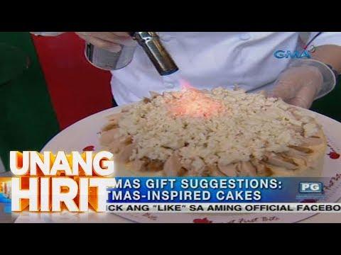 Unang Hirit: Christmas-inspired Cakes