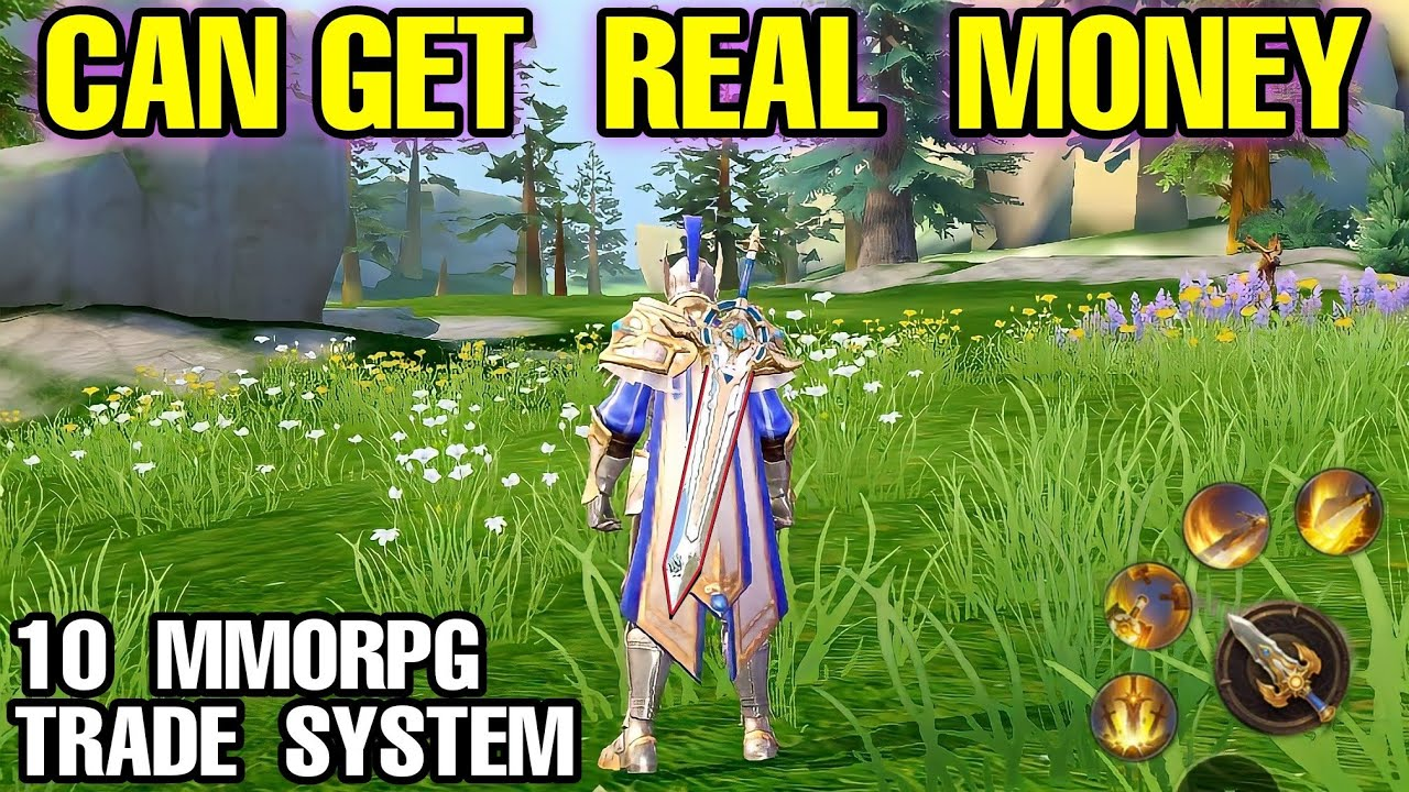 Download Top 10 MMORPG can MAKE REAL MONEY with TRADE SYSTEM on Android & iOS