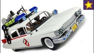 Машинки PLAYMOBIL Автомобіль Екто-1 Розпакування іграшки Ловимо привиди Car toys kids