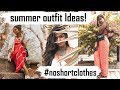 How to Look Stylish in Summer? II 5 Outfit Ideas || #noshortclothes