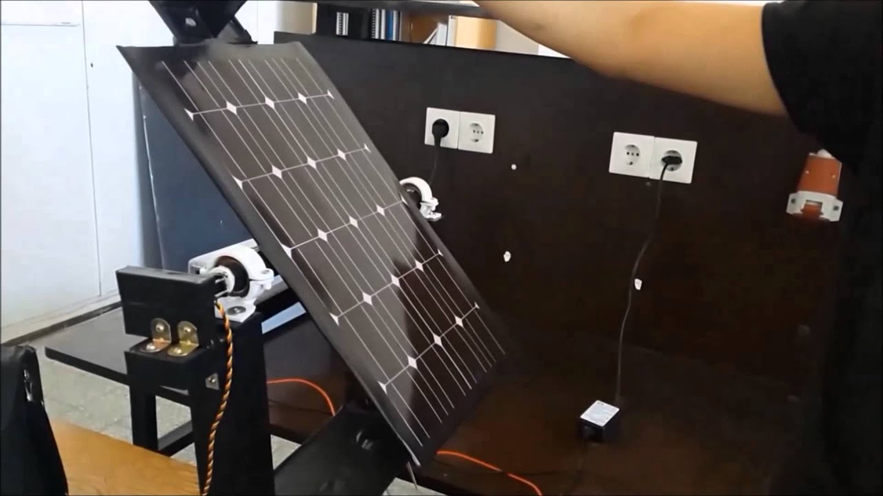 suiveur solaire solar tracker youtube. Black Bedroom Furniture Sets. Home Design Ideas