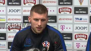 Russia: 'We have more quality' – Croatian striker Rebic on Russia quarter final