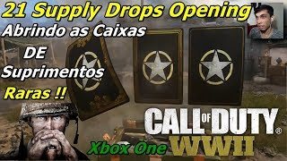 Call of Duty WWII Abrindo Caixas de Suprimentos Supply Drops Opening
