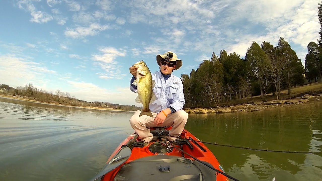 gopro hero 3 1440p and polarpro fpv kayak bass fishing 3