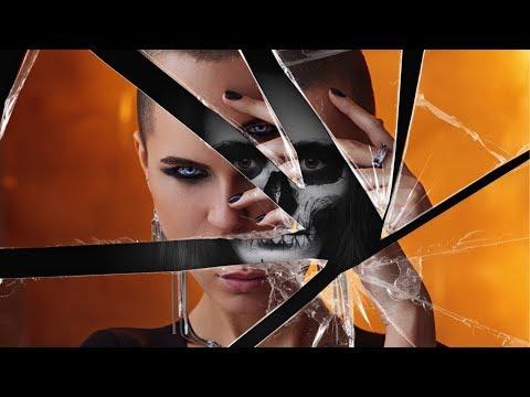 Эффект разбитого зеркала в Фотошоп