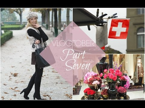 A Weekend in Switzerland | VLOGTOBER #7  |  Fashion Mumblr