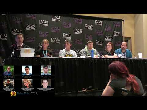 Trusting the Party's Healer; Games, Gamers, & Therapy: PAXUnplugged panel 2017