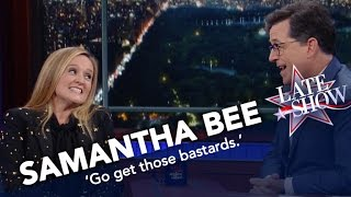 "Samantha Bee On The Election: ""I Want It To Be Over So Badly"""