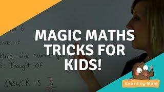 Magic Math Tricks for Kids - Number Tricks for Kids