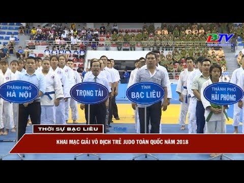Khai mạc Giải vô địch trẻ Judo toàn quốc năm 2018.