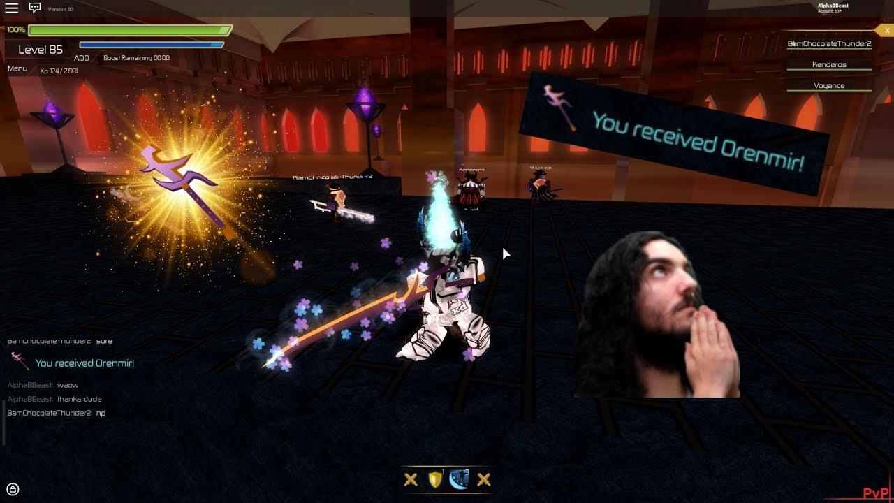SwordBurst2] AN UPDATE VID + Getting Orenmir from a cool