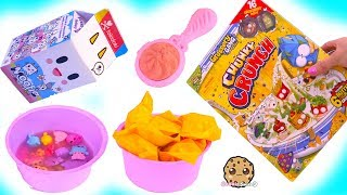 Breakfast Time ! Color Change Grossery Gang + Num Noms Surprise Blind Bags